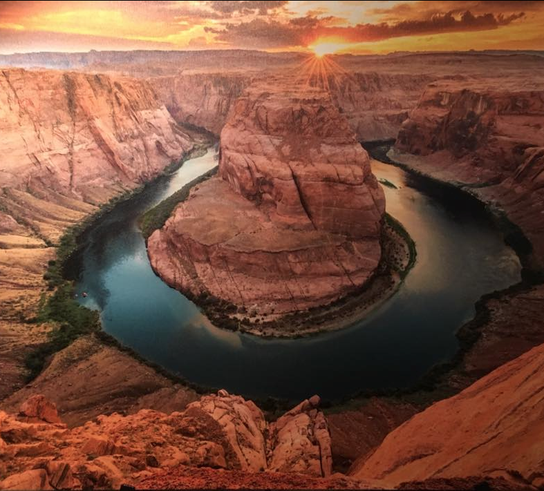 OCTOBER'S WINNER , Bonnie Reid, SC  GRAND CANYON, ARIZONA