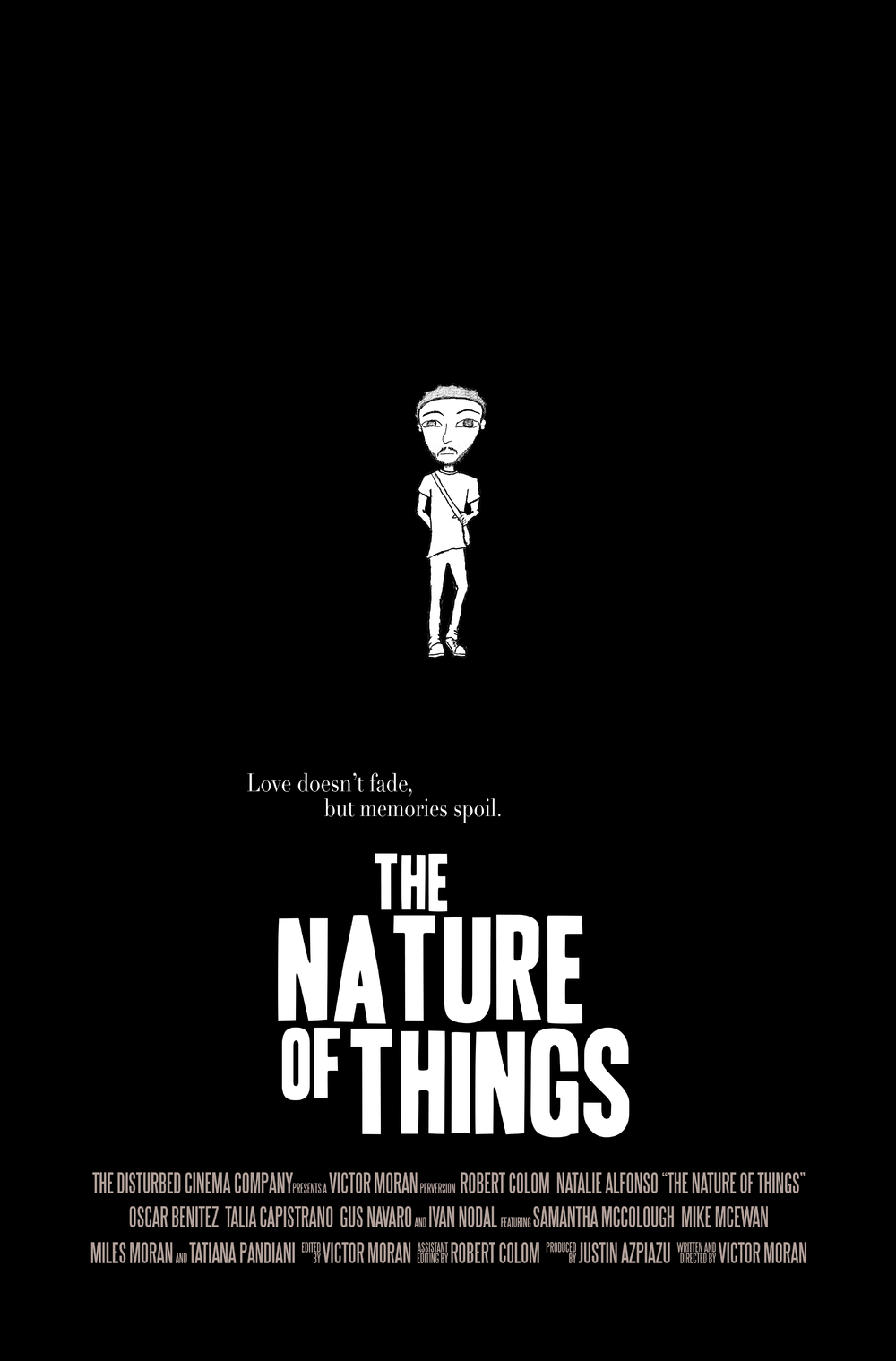 "Character Poster, ""Deedrick""   The Nature of Things   (2014) Dir. Victor Moran"