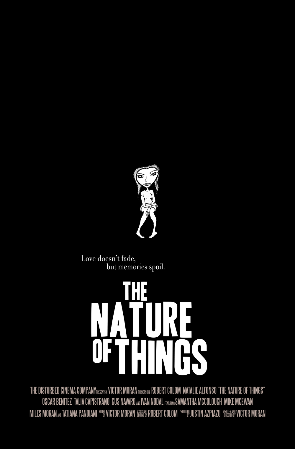 "Character Poster, ""Jess""   The Nature of Things   (2014) Dir. Victor Moran"