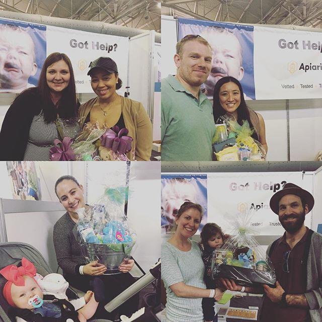 Congrats to our final winners of the day! Great meeting everyone. Thanks #NewYorkBabyshow for a #greatweekend