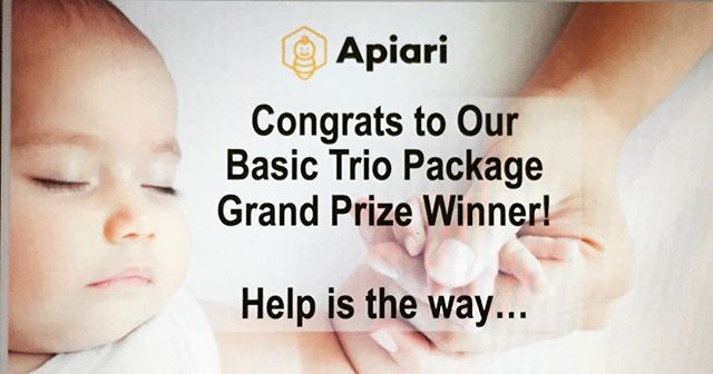 Congrats to Lauren and Scott M. on winning our #BasicTrioPackage. This #luckyfamily will be getting a night nurse, housekeeper and a family meal = fed, pampered and well-rested! #NewYorkBabyshow