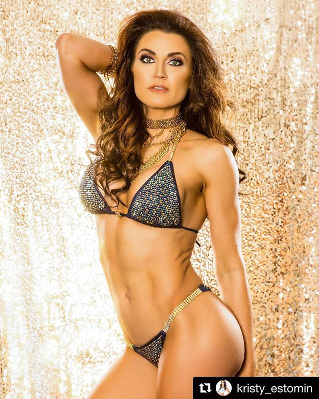 One of my all time favorite photos of an AmandaLouise bikini!!!!! Good luck at your show Kristy!!! 😘💕 #Repost @kristy_estomin with @get_repost ・・・ 12 days out from WBFF Atlantic City pro/am. 🙌👙👠 @picturegroove 📷  #teamdynasty  @stephanieayala7 @bigirish_dynasty @depetrisnick  #wbff @allisondillett @paul_dillett @wbff_official  Sponsored by @nutrition53
