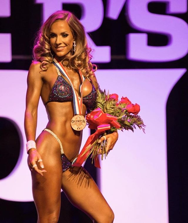 Sending some special love over to this queen @cooperkellyfit  this afternoon. I just can't stop STARING. 😍 This beautiful fit chick is looking absolutely radiant in our custom made suit with Mystique fabric and a Cobalt Shimmer/Siam Shimmer crystal combo. So proud of you and all of your efforts. You most definitely slayyyed the stage. ❤️ - Want to be connected with inspirational chicks like her and join our tribe? It's GROWING. DM us and we'll add you to our Facebook group where you can tune into podcasts, share stories, and meet new faces. 💪🏼