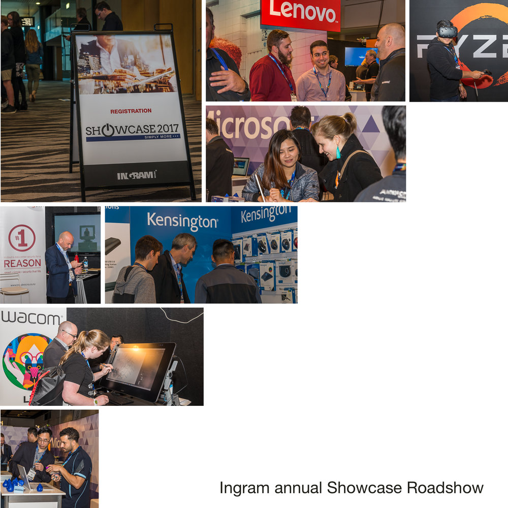 Annual Showcase Roadshow for Ingram @ Skycity Auckland