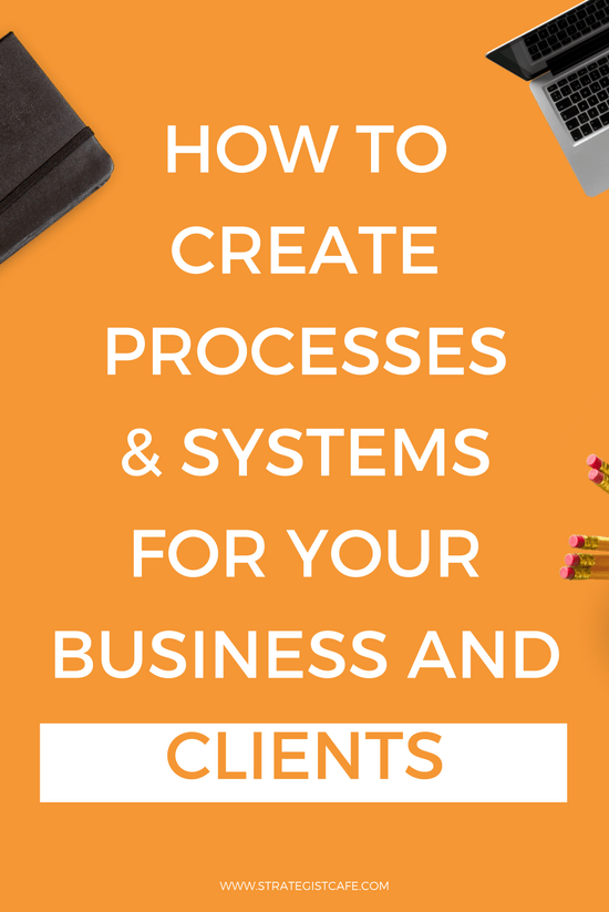 How to Create Systems and Processes For Your Business and Clients
