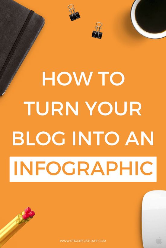 How To Turn Your Blog Into An Infographic