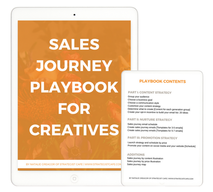 Sales Journey Playbook for Creatives is a digital download.