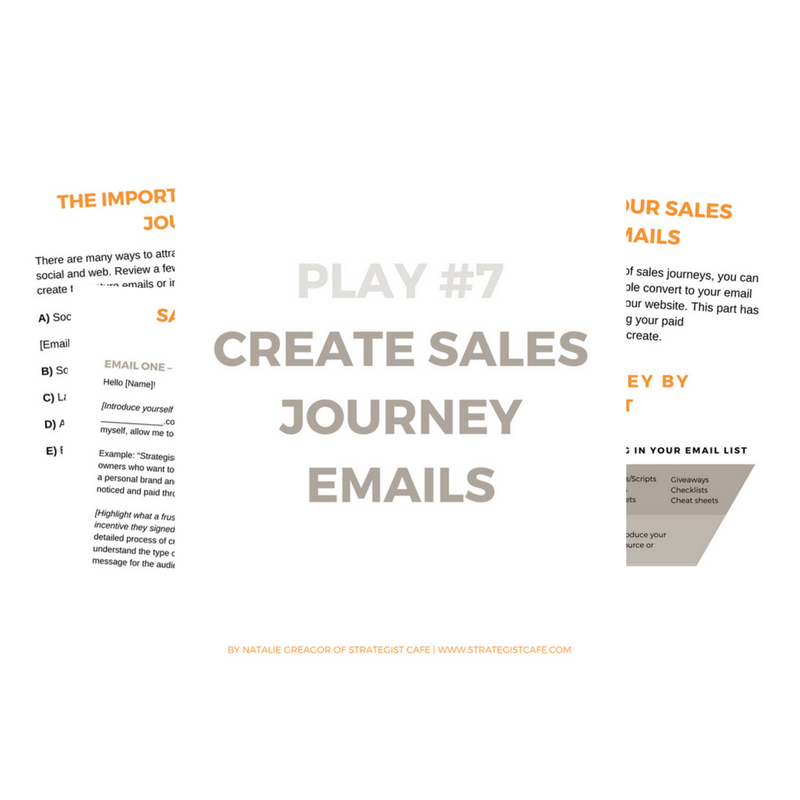 Sales Journey Playbook for Creatives is a digital download