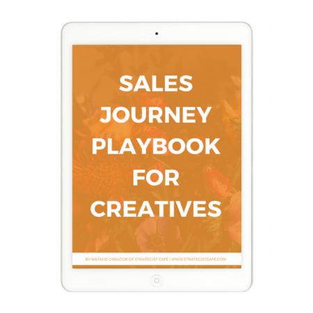 Sales Journey Playbook for Creatives - Strategist Cafe