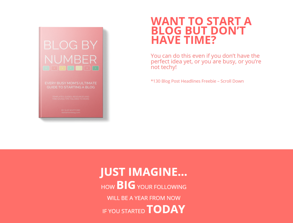 This ebook is for mommy bloggers, but there is a TON of resources for any blogger. the blog strategy in this book is nothing short of amazing!