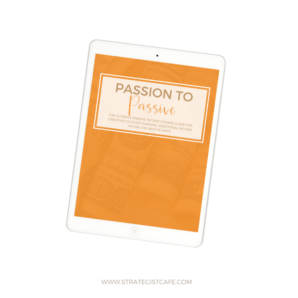 The cafe's very own passive income ebook is for anyone who wants to earn on autopilot. It gives step-by-step insight on how to create a stream of passive income. It has a TON of valuable resources throughout the entire book.