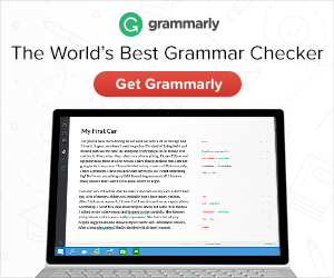 Grammarly is a life saver! It assists you with writing anything! Never worry about punctuation, misspelling anything, or the misuse of words. It will help you write effective blog posts, email responses, and social media comments on your desktop.  This book is perfect for anyone living in feel, but even more perfect for INTROVERTS! It has helped me become the person and business owner that I have evolved into today. If you are living in fear but you want more out of life, please get this book!
