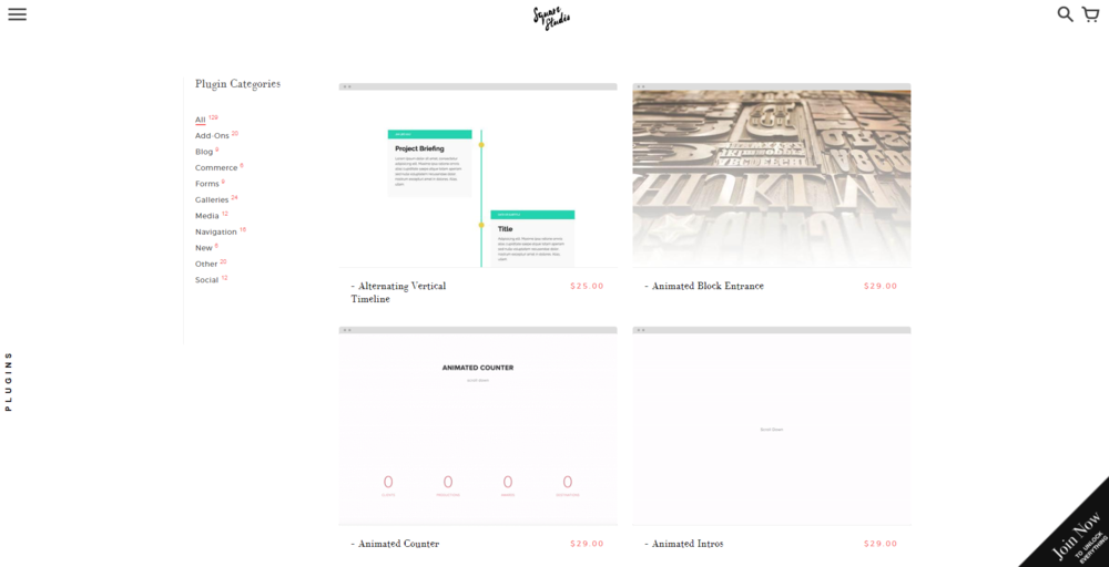 Customize your website to the max with Square Studio! Create timelines, custom cover pages, buttons, countdowns, and more with these amazingly coded templates.