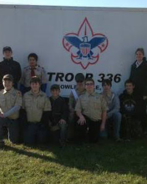Boy Scouts of America    The Kellogg Family Foundation is excited to be able to provide a new trailer for Troop 336 in Fowlerville, Michigan.