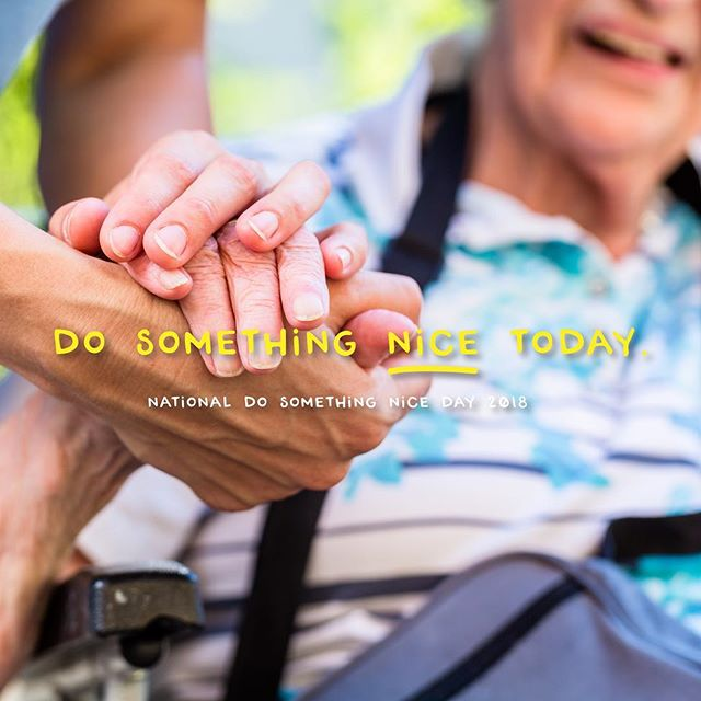 Observe #NationalDoSomethingNiceDay by taking time out of your busy schedule to do something kind for someone. Something as simple as buying a coffee or extending a compliment can go a long way. 😁 . . . #michigan #howellmi #howellmichigan #brightonmi #detroitmi #metrodetroit #nonprofit #notforprofit #helpingothers #caringforothers #communityservice #communityproject #communityfirst #getinvolved #bethechange #bringinghope #changemakers #dogood #choosekind #giveback #speaklove #inspire #inspiration #behappy