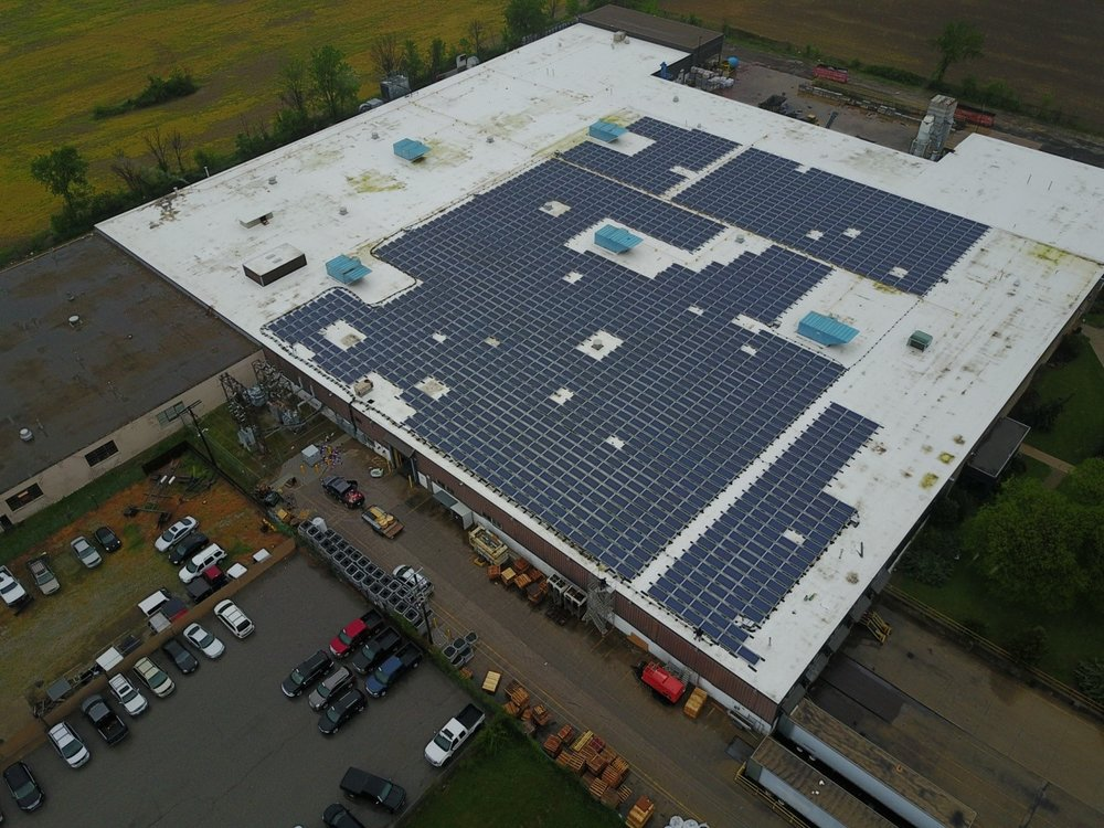 Client: Moose Power    System size: 500kw AC, Sungrow Inverters, Polar Racking    Construction time: 4 weeks