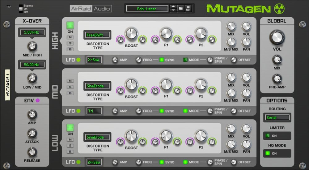 Mutagen Multiband Distortion