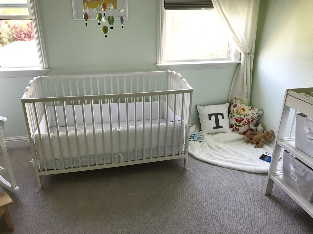 Our Baby girl has her own space now! More of this story on the Blog this week!