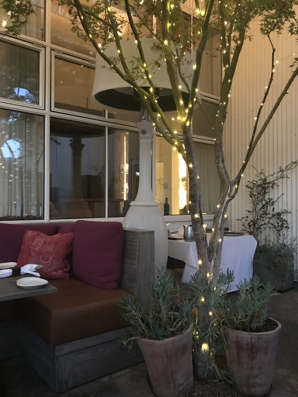 """'Press' in Saint Helena is such a beautiful restaurant! Highly recommend if you are around that area! And its right beside """" Dean and Deluca """" which is just a dangerous place if you love coffee and simple luxuries!"""