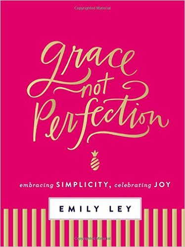 "Emily Ley ""Grace, Not Perfection""  (Completed)"