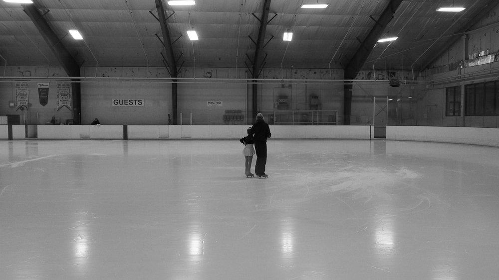 Figure skating coach