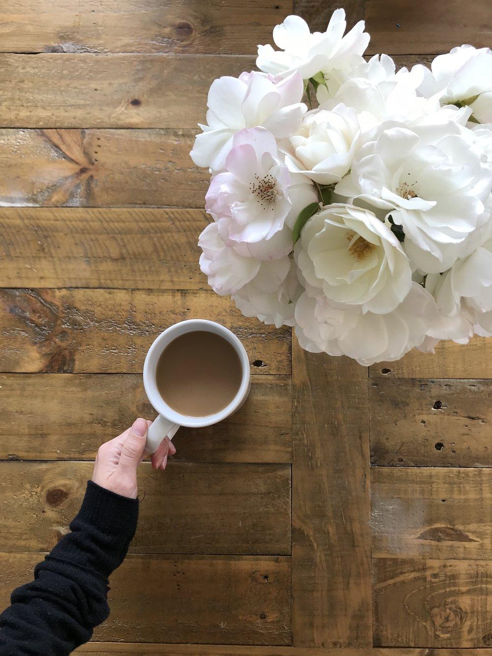 Simple Joys: Always coffee