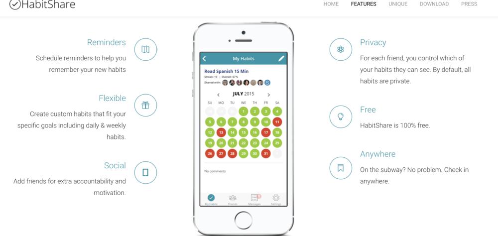 Habit Share App