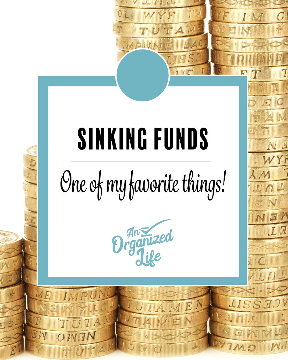 Sinking funds!