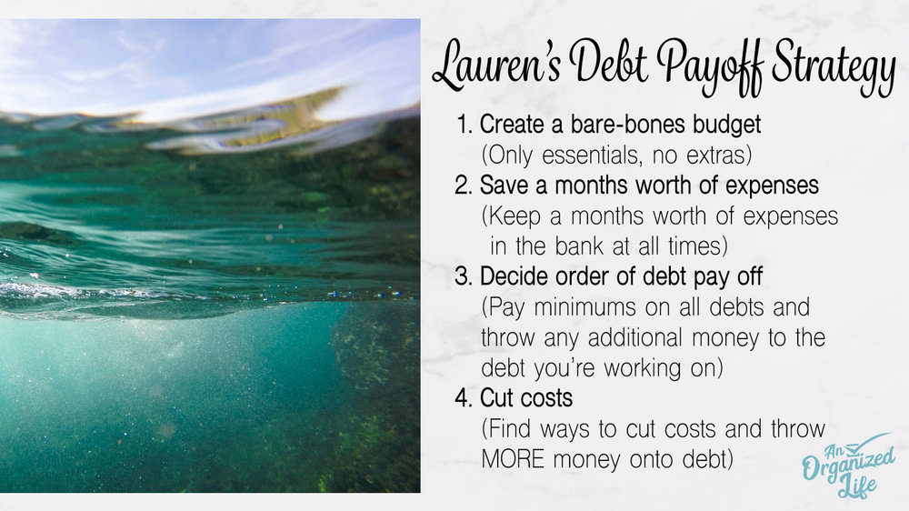 Laurens debt payoff strategy
