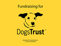 5% of profit is donated to Dogs trust