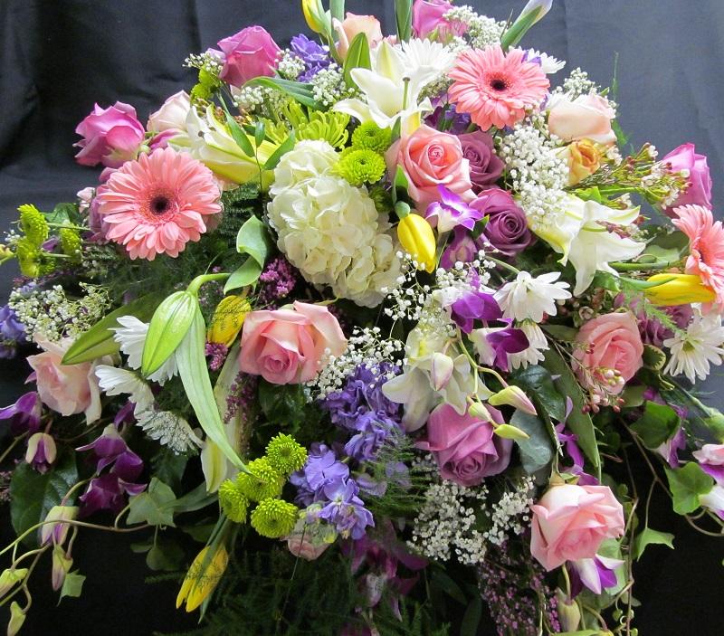 Floral statement
