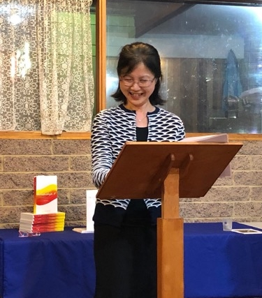 Rosemary Wong launching  Workship 2  in Melbourne