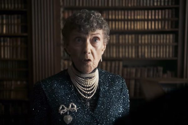 Eileen Atkins as Queen Mary in Netflix The Crown, 2016