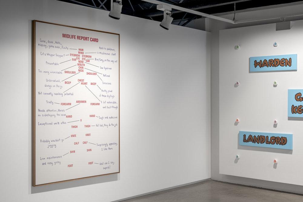 An Awkward Dance Installation view 2018