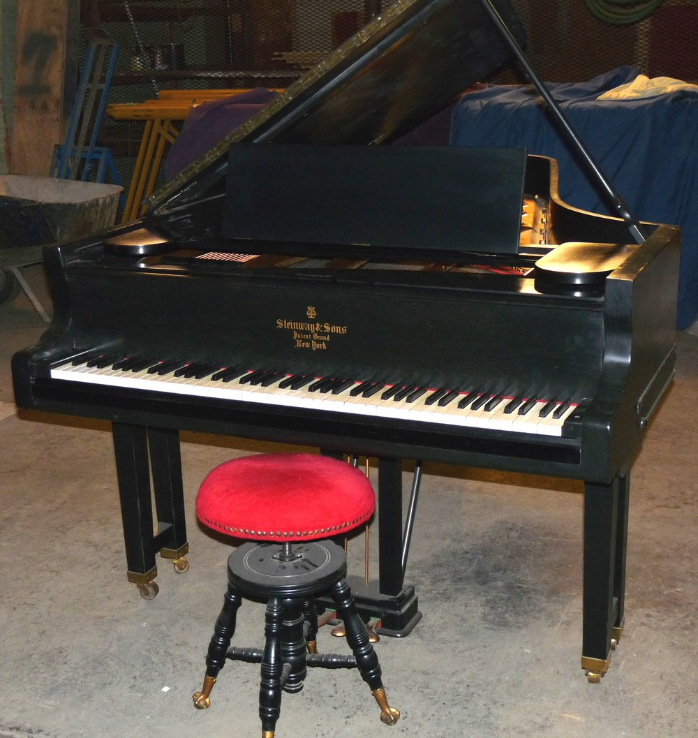 Steinway Old Style 3 Front View