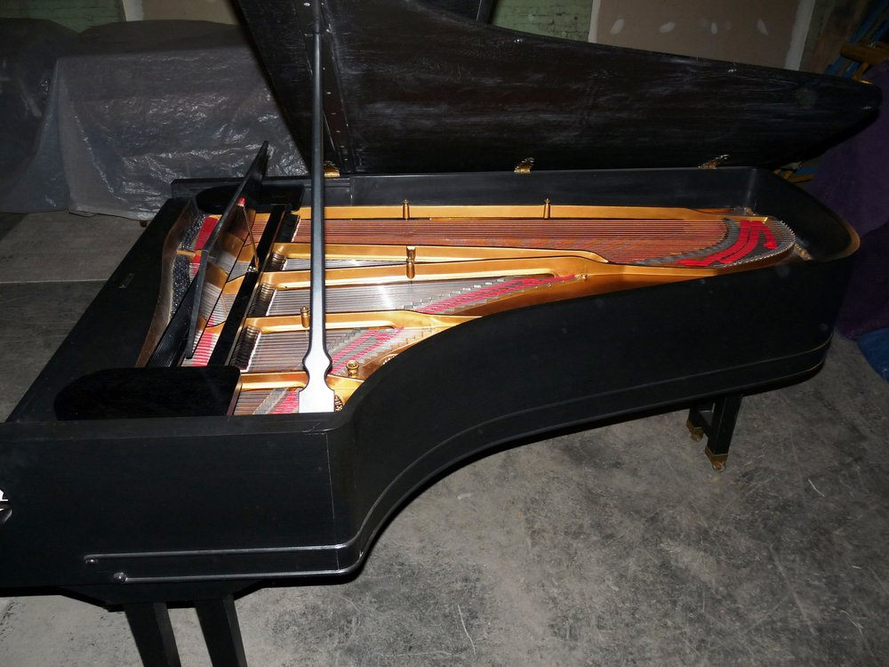 Steinway Old Style 3 Side view