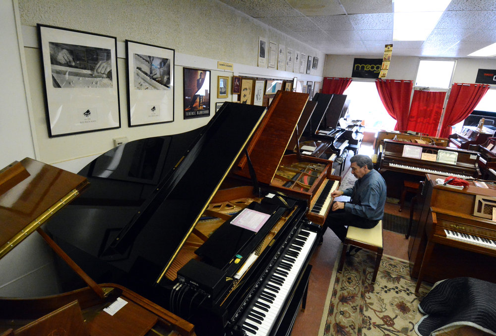 Used Piano Center Showroom