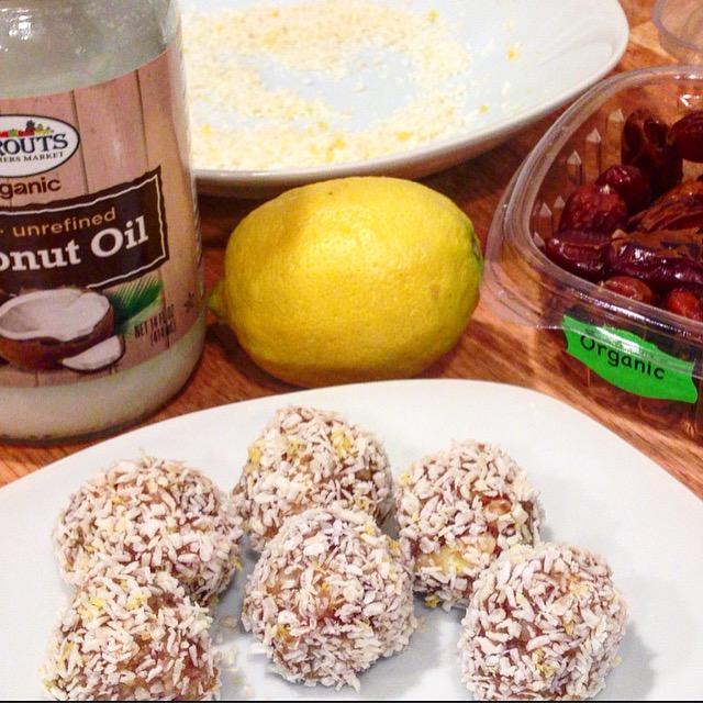 Lemon Coconut Energy Bites