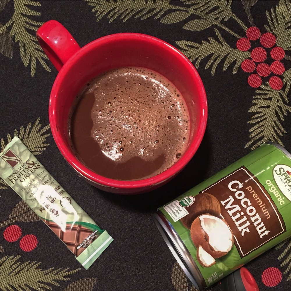 Healthy Peppermint Mocha