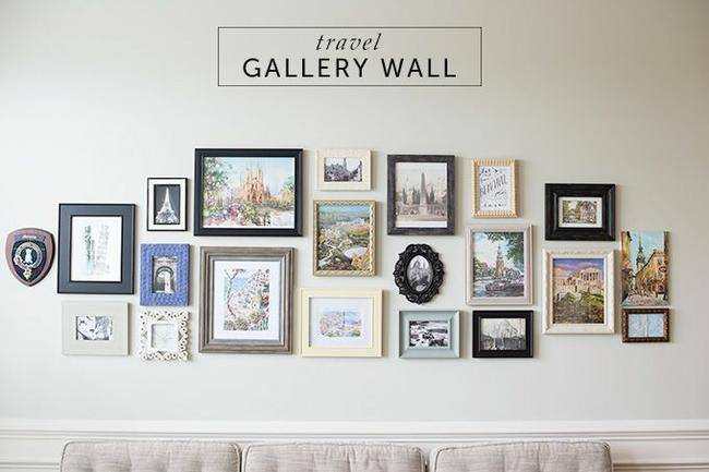 Gallery Walls are Hot - Hot - HOT!