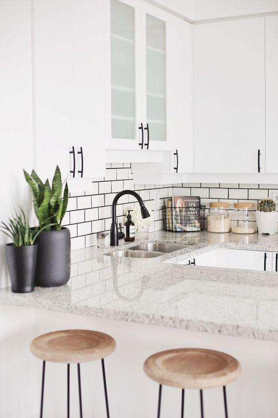 Black Faucet - Interior Designer Dina Marie Joy