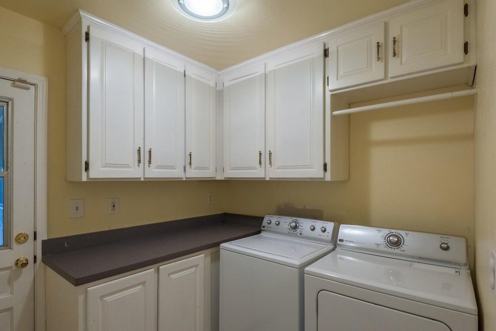 Existing Laundry Room (what it looks like now)