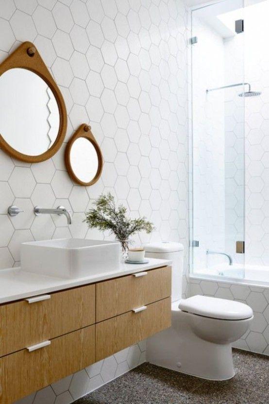 Modern Bathroom. Interior Designer Dina Marie Joy. E-Design available. www.dinamariejoydesigns.com