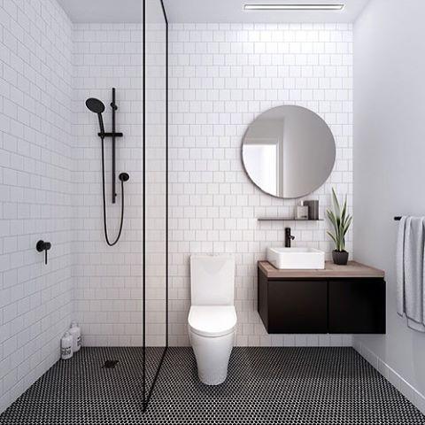 Modern Bathroom. Interior Design Dina Marie Joy. E-Design available at www.dinamariejoydesigns.com
