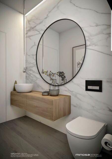 Modern Bathroom. Interior Design Dina Marie Joy. E-Design available at www.dinamariejoydesigns.com.