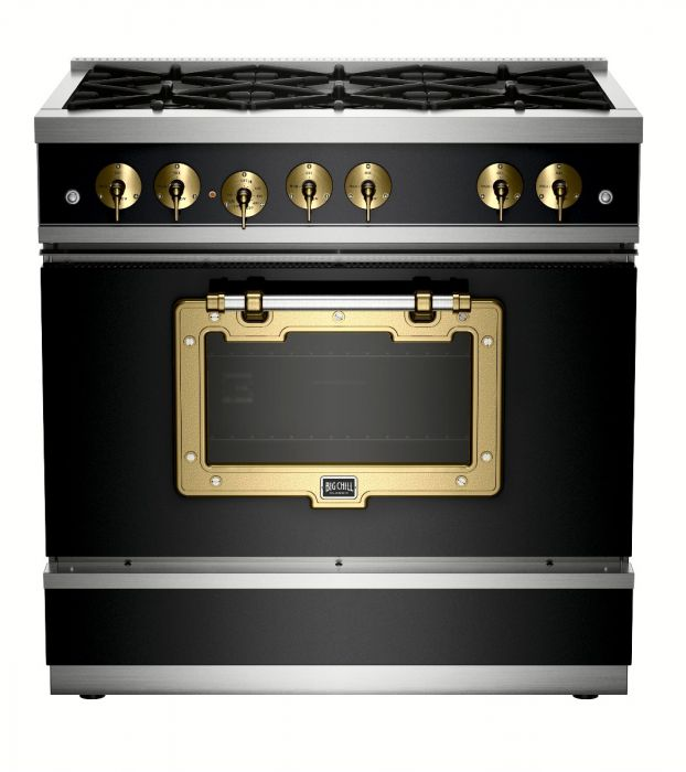 Dina Marie JOy's favorite Black Stove/Oven from Big Chill.