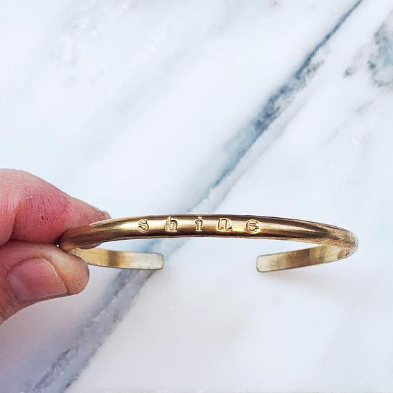 The Year Cuff Bangle is one of Dina Marie Joy's Friday Favorites. www.dinamariejoy.co