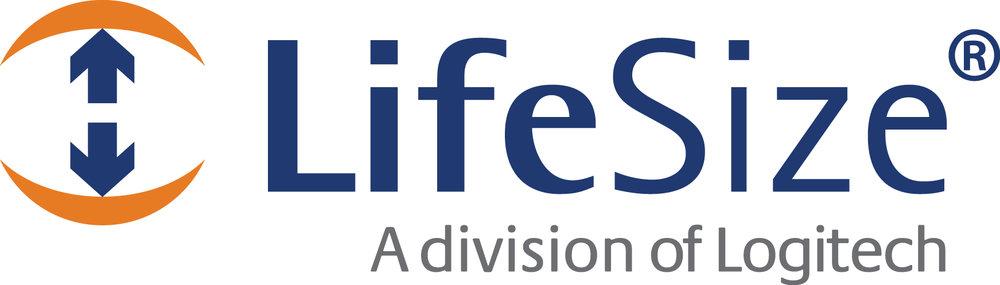 LifeSize Logitech logo