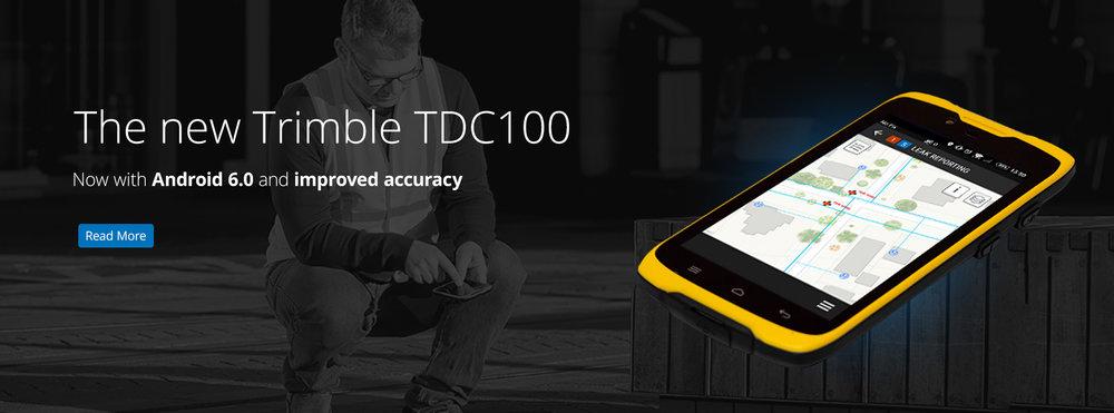 The new Trimble TDC100