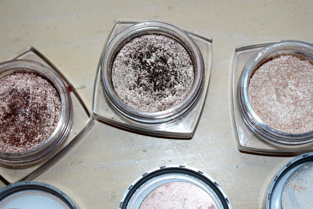 From left to right: Amber Rush, Bronzed Taupe, Iced Latte